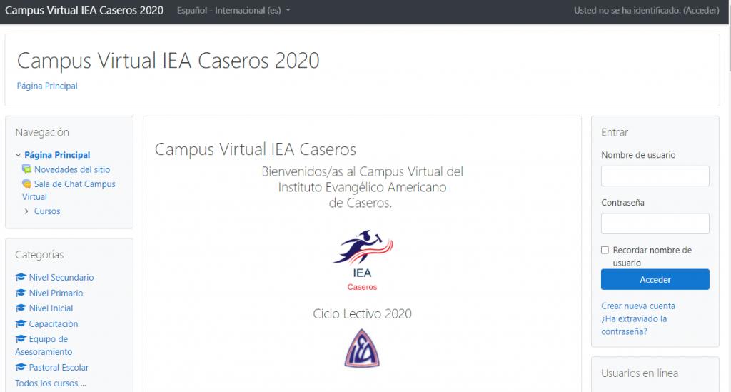 www.ieacaseros.edu.ar/campusvirtual